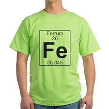 Element 26 - Fe (ferrum) - Full T-Shirt