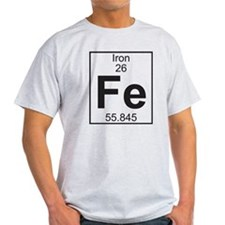 Element 26 - Fe (iron) - Full T-Shirt
