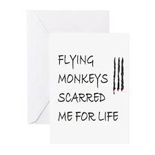 Flying Monkeys Greeting Cards (6)