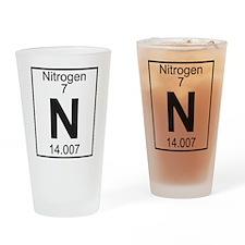 Element 7 - N (nitrogen) - Full Drinking Glass