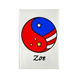 Zoe Rectangle Magnet