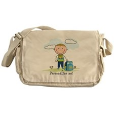 School boy - personalize - Messenger Bag