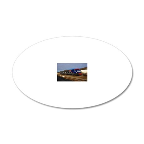 Honor Our Veterens 20x12 Oval Wall Decal