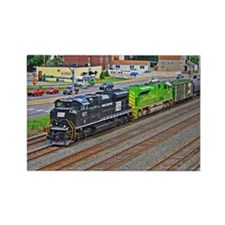 Norfolk Southern Heritage. Rectangle Magnet