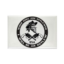 Gun Control Rectangle Magnet (100 pack)