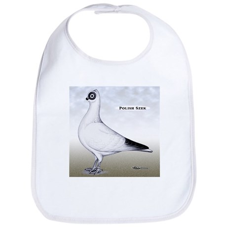 Polish Shortface Pigeon Bib