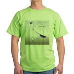 Polish Shortface Pigeon Green T-Shirt
