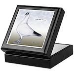 Polish Shortface Pigeon Keepsake Box