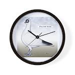 Polish Shortface Pigeon Wall Clock