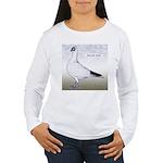 Polish Shortface Pigeon Women's Long Sleeve T-Shir