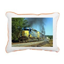 CSX Smoker Rectangular Canvas Pillow