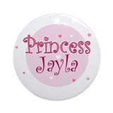 Jayla Ornament (Round)