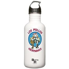 Los Pollos Hermanos Sports Water Bottle