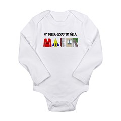 It feels good to be a MAKER-lt Body Suit