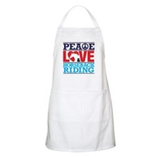 Peace Love and Horseback Riding Apron