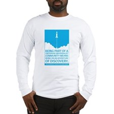 UU Community Means Discovery Long Sleeve T-Shirt