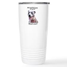 Pit Bull Kisses Travel Mug