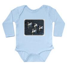 Emden Geese 9P51D-113 Long Sleeve Infant Bodysuit