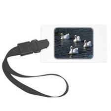 Emden Geese 9P51D-113 Luggage Tag