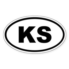 Kansas KS Decal