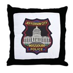 Jefferson City PD Throw Pillow