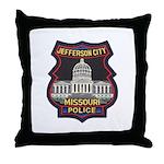 Jefferson City PD Throw Pillow