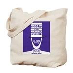 March on Springfield Marriage Poster-Lincoln Tote