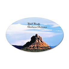 Bell Rock Sedona  35x21 Oval Wall Decal