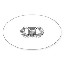 Command and Control Badge Oval Decal