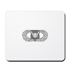 Command and Control Badge Mousepad