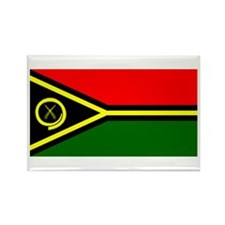 Vanuatu Blank Flag Rectangle Magnet