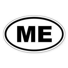 Maine ME Decal