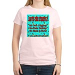 Save The Firefly No Over Logg Women's Pink T-Shirt