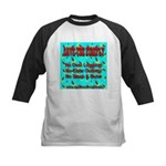 Save The Firefly No Over Logg Kids Baseball Jersey