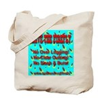 Save The Firefly No Over Logg Tote Bag