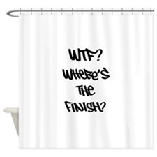 WTF? Shower Curtain