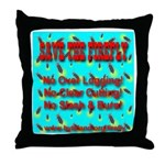 Save The Firefly No Over Logg Throw Pillow