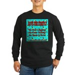 Save The Firefly No Over Logg Long Sleeve Dark T-S