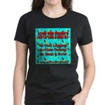 Save The Firefly No Over Logg Women's Dark T-Shirt