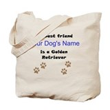 Golden retriever Bags & Totes
