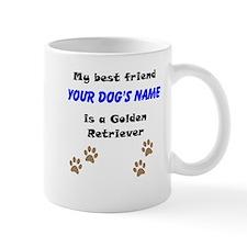 Custom Golden Retriever Best Friend Mug
