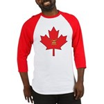 Canadian Shriners Maple Leaf Baseball Jersey