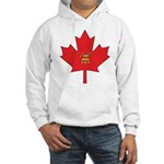 Canadian Shriners Maple Leaf Hooded Sweatshirt