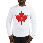 Canadian Shriners Maple Leaf Long Sleeve T-Shirt