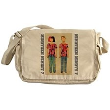 Nineteen Ninety Seven couple Messenger Bag