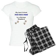 Custom German Shepherd Best Friend Pajamas