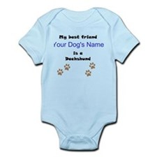 Custom Dachshund Best Friend Body Suit