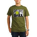 EAT, SLEEP, SOFTBALL - Black T-Shirt