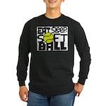EAT, SLEEP, SOFTBALL - Black Long Sleeve T-Shirt