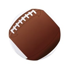 "Football 3.5"" Button"